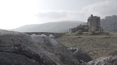 Eilean Donan Castle Scotland Ungraded Stock Footage