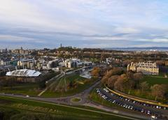 Edinburgh Skyline Stock Photos