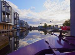 Union Canal in Edinburgh Stock Photos