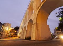 Lapa Arches in Rio Stock Photos