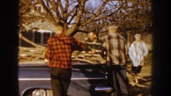 1959: no everything in life can be done alone some things require help NEBRASKA Stock Footage