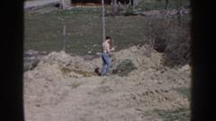 1959: digging up the dirt NEBRASKA Stock Footage