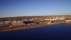2016: stunning view of a civic area COLORADO Stock Footage