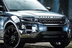 Range Rover EVOQUE tuning Stock Photos