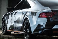 Audi S7 tuning Stock Photos