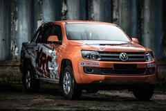 Volkswagen Amarok tuning Stock Photos