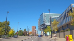 Downtown Cincinnati OH Stock Footage