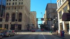 Driving through Downtown Cincinnati Ohio Arkistovideo