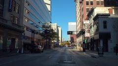 Downtown Cincinnati stock video Arkistovideo