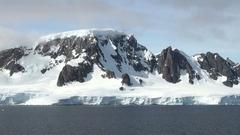Cruising in Antarctica Stock Footage