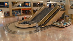 Tower City Center Mall Cleveland OH Stock Footage