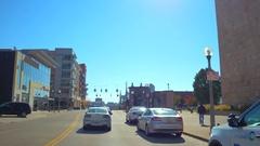Waterfront Downtown Cincinnati Ohio Arkistovideo