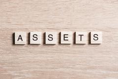 Assets word Stock Photos