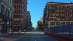 Touring Downtown Cincinnati Ohio 4k Arkistovideo