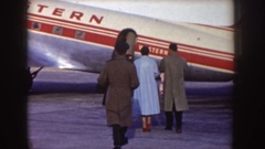 1955: fly in the machine IDAHO Stock Footage