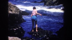 1957: confusing danger of the seas SAN FRANCISCO CALIFORNIA Stock Footage