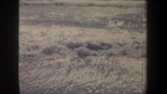 1957: surf hitting the shore SAN FRANCISCO CALIFORNIA Stock Footage