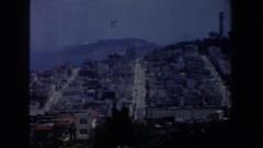 1957: the mountain city SAN FRANCISCO CALIFORNIA Stock Footage
