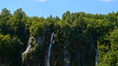 National Park Plitvicka jezera. Europe Stock Footage