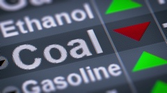 Coal. Down. Looping. Stock Footage