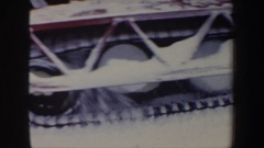 1962: go anywhere in the snow NEW HAMPSHIRE Stock Footage