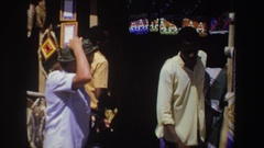1969: the trade between black and white SOUTH AFRICA Stock Footage