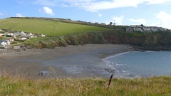 Bay in South Devon ,England Stock Footage