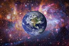 Planet Earth from space. Elements of this image furnished by NASA. Kuvituskuvat