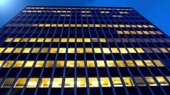 Office building in Stockholm, Sweden. Stock Footage