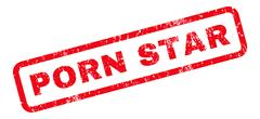 Porn Star Rubber Stamp Stock Illustration