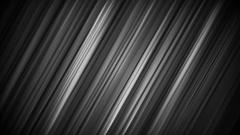 Black smooth stripes and lines animated background Stock Footage