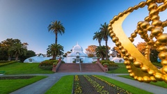 San Francisco Golden Gate Park. Sunny day timelapse. America. USA. California Stock Footage
