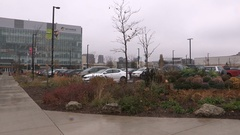 Humber college campus exteriors in Toronto Stock Footage