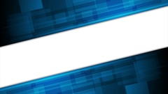 Blue technology video animation with arrows Stock Footage