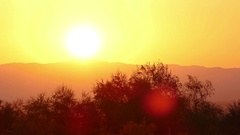 Sunny Background Rays Time Lapse 4K Stock Footage