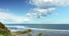 Wonthaggi, Australia: Beach Time Lapse. Ocean Wave Stock Footage