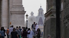 Campidoglio, Rome, Lazio, Italy, Europe Stock Footage