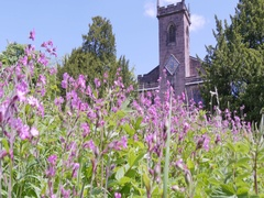 Church at Cromford, Derbyshire Dales near Matlock, Chesterfield, Derbyshire, Stock Footage