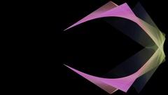 Lines screensaver seamless loop Stock Footage