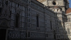 MH TU Santa Maria Del Fiore Cathedral / Florence, Italy Stock Footage