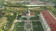 Aerial shooting of the Zolochiv castle Arkistovideo