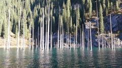 Lake Reflection Time Lapse 4K Stock Footage