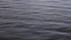 Raining in water reservoir Stock Footage