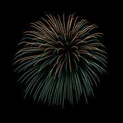 Firework bursting sparkle background Piirros