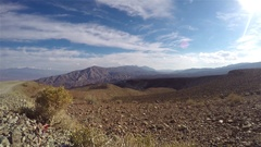 Timelapse from a mountain viewpoint, in Death valley, California, in United s Stock Footage