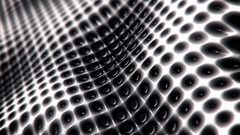 Waving mesh pattern abstract motion background seamless loop Stock Footage