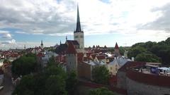 Tallinn, Estonia Stock Footage