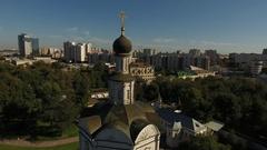 Andronikov Monastery of the Saviour Stock Footage