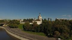 Andronikov Monastery of the Saviour 1357 Stock Footage