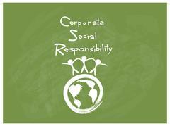 Environment Conservation with Corporate Social Responsibility Concepts Stock Illustration
